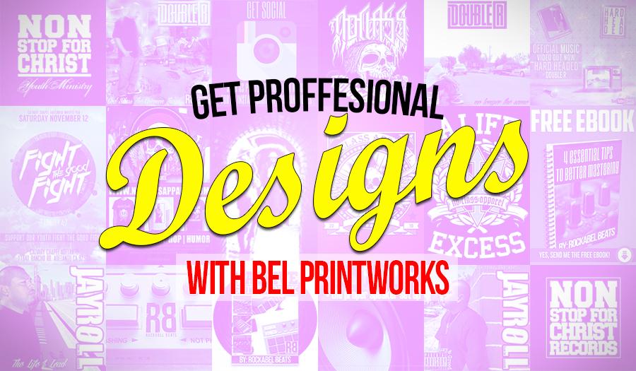 Bel Printworks online graphic design service www.belprintworks.com