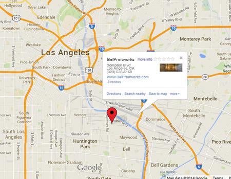 Online Business Location at www.belprintworks aka bell printworks