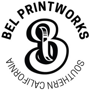 Bel Printworks Home Logo www.belprintworks.com aka bell printworks